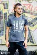 EVERLAST T-SHIRT EVR9300 CHARCOAL