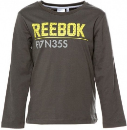 REEBOK T-SHIRT DŁUGI RĘKAW S49441 DARK SHADOW