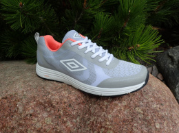 UMBRO HONIARA UMFL0018 15 GREY/WHITE/CORAL NO SHOE BOX
