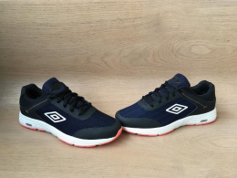 UMBRO YUKON UMFM0153 BLACK/NAVY/CORAL NO SHOE BOX